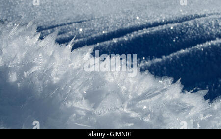 winter cold ice - Stock Photo