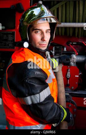 france action helmet - Stock Photo