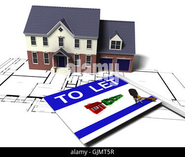 house building object - Stock Photo