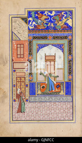 Nur ad Din Abd al Rahman Jami   Manuscript   Google Art Project - Stock Photo