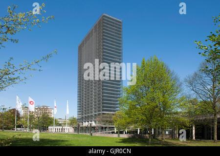 BRD, Deutschland, NRW, Leverkusen, Bayer-Hochhaus - Stock Photo