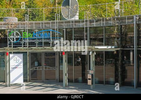 BRD, Deutschland, NRW, Leverkusen, Baykomm Kommunikationszentrum. Das Bayer-Kommunikationszentrum in Leverkusen - Stock Photo
