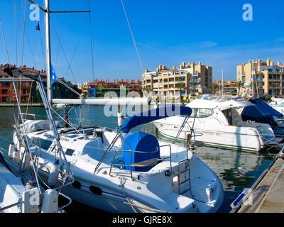 marina of sotogrande,andalucia - Stock Photo