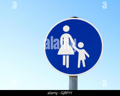 special path for pedestrians - Stock Photo