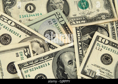 dollar dollars currency - Stock Photo