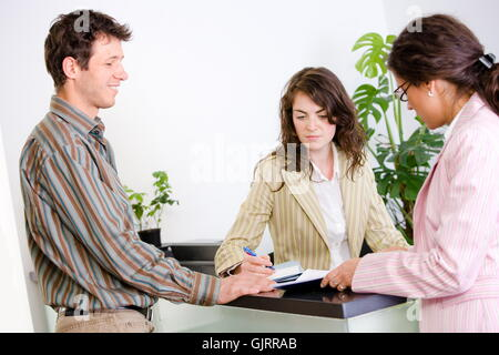 woman talk speaking - Stock Photo