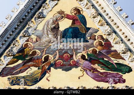 siena cathedral of santa maria - Stock Photo