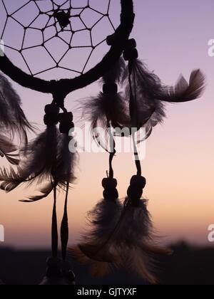 dreamcatcher -abendrot- - Stock Photo
