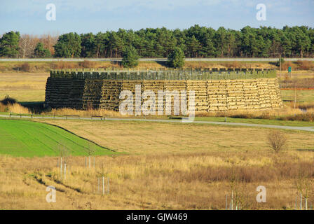 raddusch slavic fort - raddusch slavic fort 05 - Stock Photo