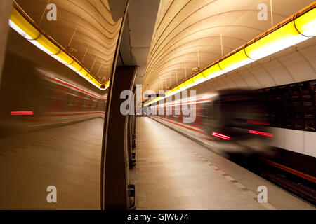 metro date time - Stock Photo