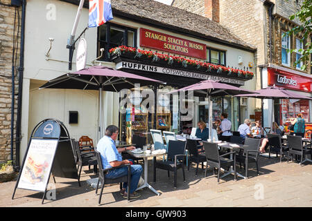Huffkins Tea Rooms & Bakery High Street Witney Oxfordshire UK - Stock Photo