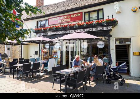 Huffkins Tea Rooms & Bakery High Street Witney Oxfordshire UK - Stock Photo