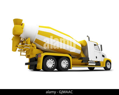 isolated industrial car - Stock Photo