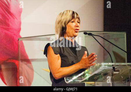 London, UK. 17th Aug, 2016. Jude Kelly artistic director of South Centre attends the launch of the Autumn season - Stock Photo