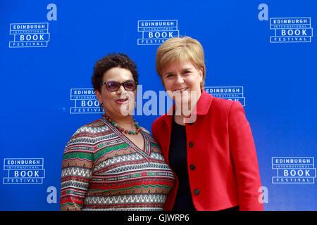 Edinburgh, UK. 18th Aug, 2016. Edinburgh International Book Festival 6th Day. Edinburgh International Book Festival - Stock Photo