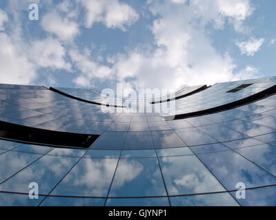 window porthole dormer window - Stock Photo