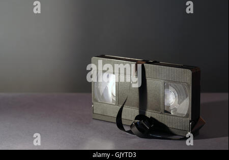 Old Video Cassette - Stock Photo