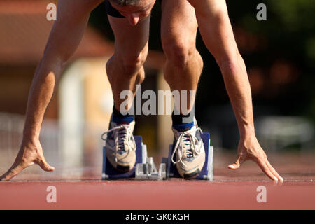 sprintstart - Stock Photo