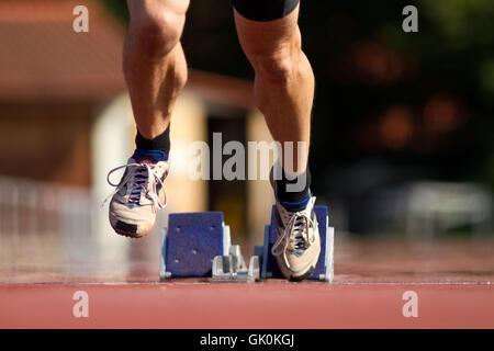 sprintstart - Stock Photo