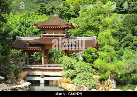 garden china chinese - Stock Photo