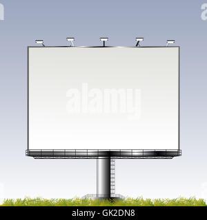 banner advertisement advertise - Stock Photo