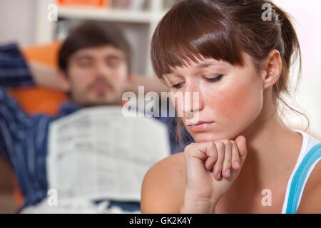 sleep sleeping lazy - Stock Photo
