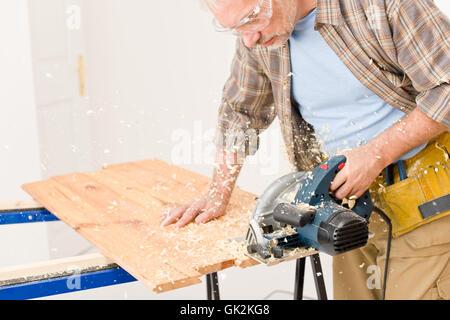 wood cut renovation - Stock Photo