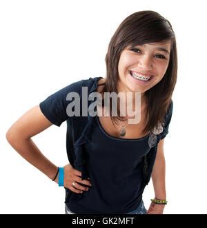 feminine female teen - Stock Photo