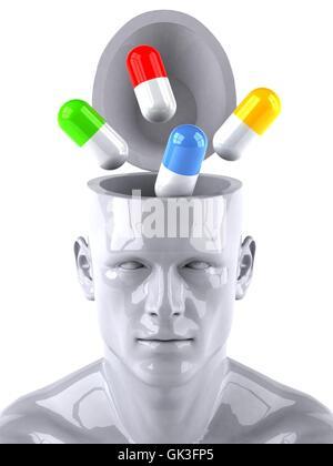 health model design - Stock Photo