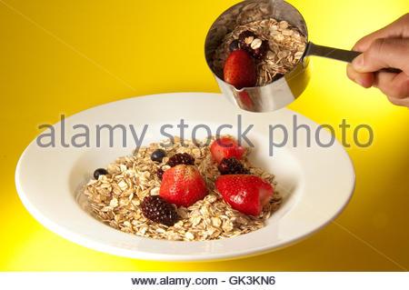 cereal food breakfeast - Stock Photo