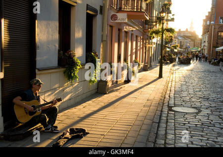 Vilnius, Lithuania --- Street scene, Vilnius, Lithuania --- Image by © Jeremy Horner - Stock Photo