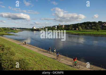 Vilnius, Lithuania --- Kaunas, the old capital city, on the banks of the Nemunas River, Lithuania --- Image by © - Stock Photo