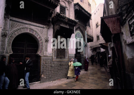 ca. 1990-2000, FËs, Morocco --- The Old City in Fez --- Image by © Jeremy Horner - Stock Photo