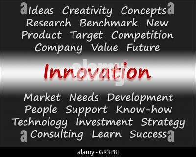innovation - business concept - Stock Photo