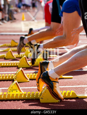 sprint start - Stock Photo