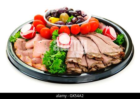 cold catarrh tray - Stock Photo