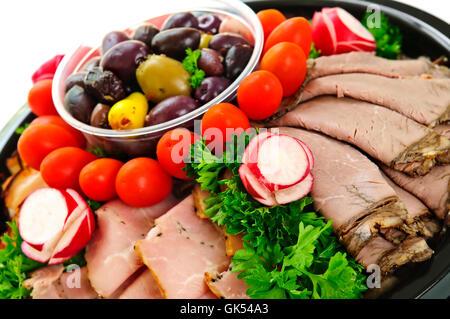 Beef Cold Catarrh Tray Stock Photo