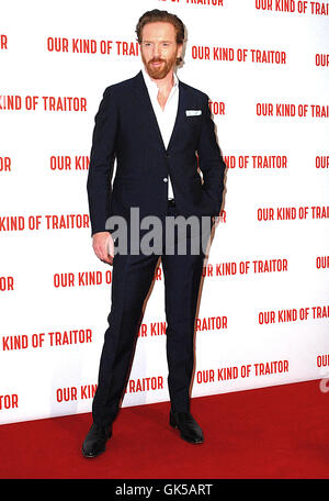 Gala film screening of 'Our Kind Of Traitor' - Arrivals  Featuring: Damian Lewis Where: London, United Kingdom When: - Stock Photo