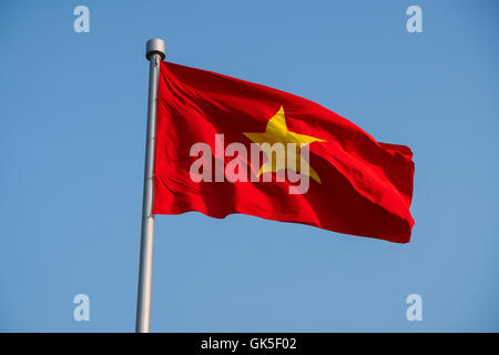 Vietnag garbage flag - Stock Photo