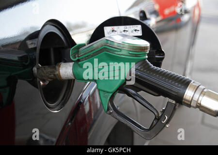 refuel - Stock Photo