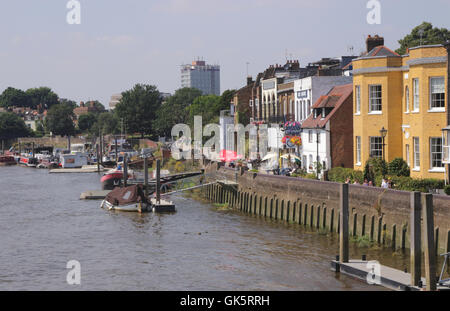 Riverside Hammersmith London - Stock Photo