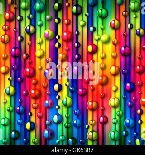 graphic bubbles abstract - Stock Photo