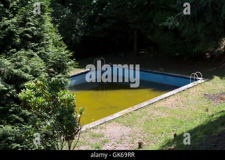 Swimming pool. - Stock Photo