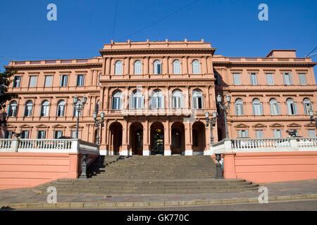 the casa rosada in buenos aires,argentina - Stock Photo