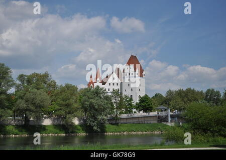 new castle ingolstadt - Stock Photo
