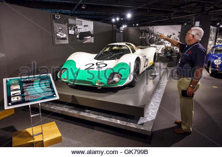 Naples Florida Revs Institute of Automotive Research automotive car museum Miles Collier private collection rare - Stock Photo
