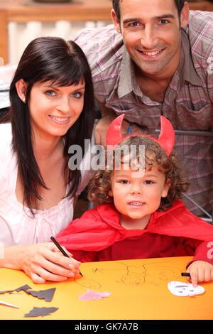 contest satan wise - Stock Photo