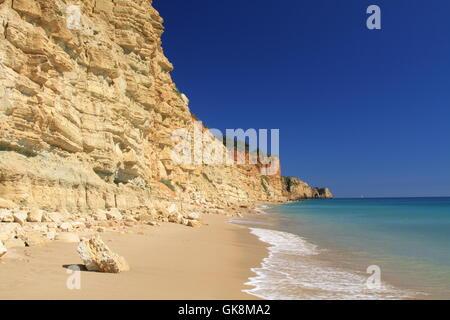 rock atlantic ocean salt water - Stock Photo