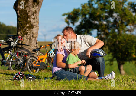 summer summerly outing - Stock Photo