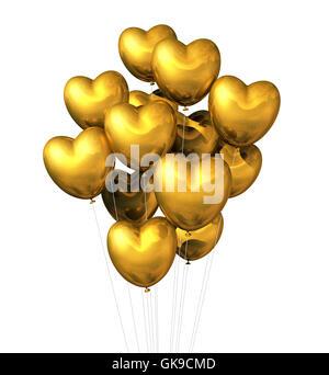balloon valentines day balloons - Stock Photo